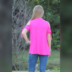 Pretty in Pink Top: Fuchsia