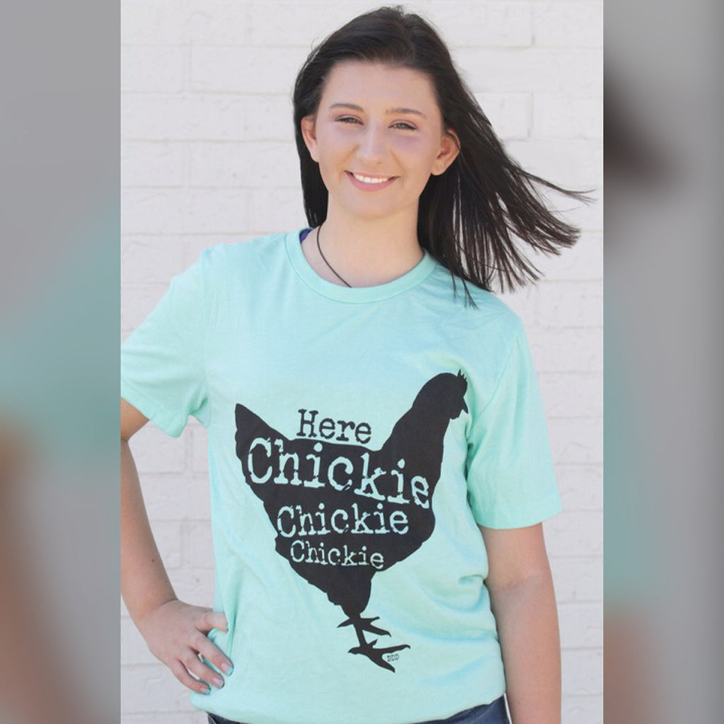 Here Chickie Graphic Tee