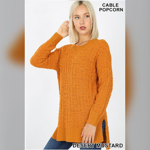 No Chance Sweater: Desert Mustard