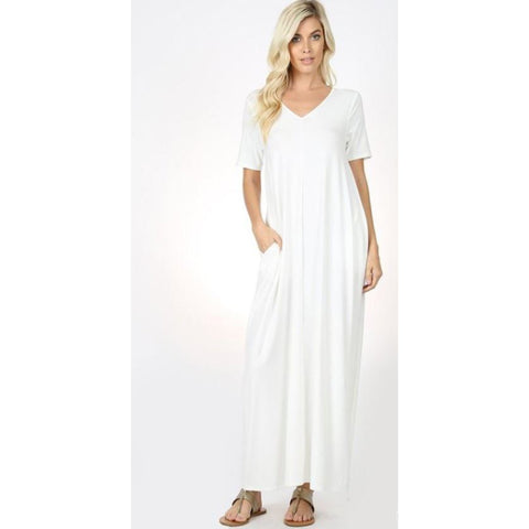 Flow with it Maxi: Ivory