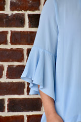 Beauty Within Top: Powder Blue