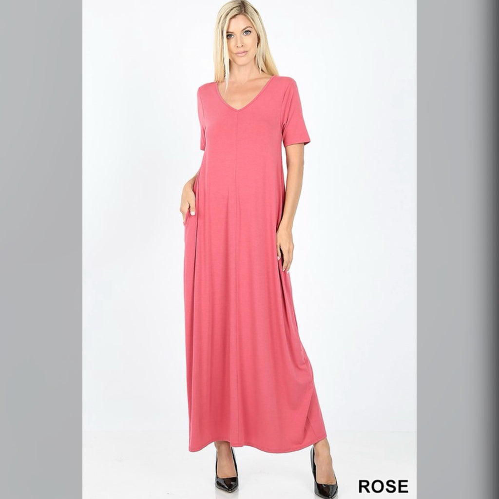 Flow with it Maxi: Rose