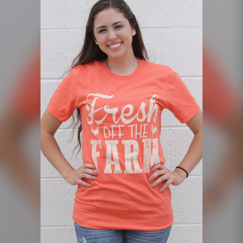Fresh Off The Farm Graphic Tee