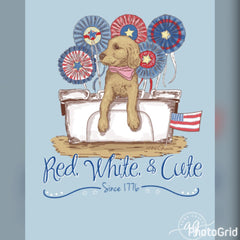Anna Grace: Patriotic Puppy