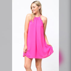 Never Bored Dress: Pink
