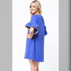 Going With Me Dress: Royal Blue
