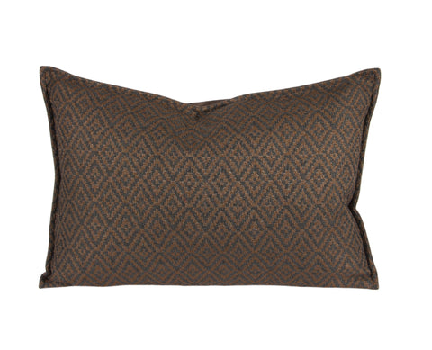 "L626-3038 14""x20"" This Rioja Stone Pillow in a Woven Fabric, adds to this unique vintage style, part of Unbridled Passion Collection"