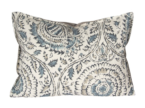"L626-3135 Anala Mist 14X20"" Pillow with Feather Insert in The Welcoming Home Collection"