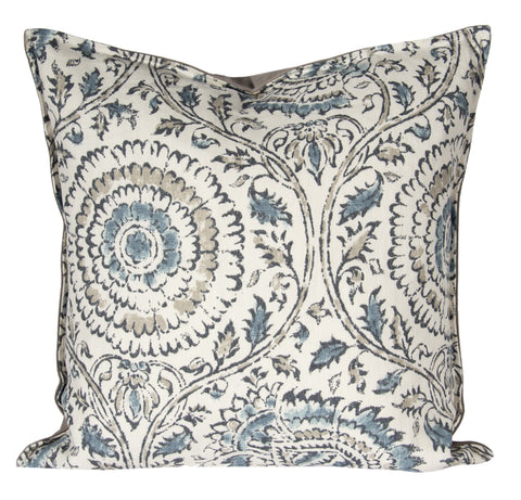 "L643-3135 20x20"" Pillow in Anala Mist for the Welcome Home Collection"