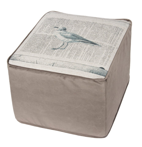 L900F-COME Footy Ottoman The Welcome Home Collection