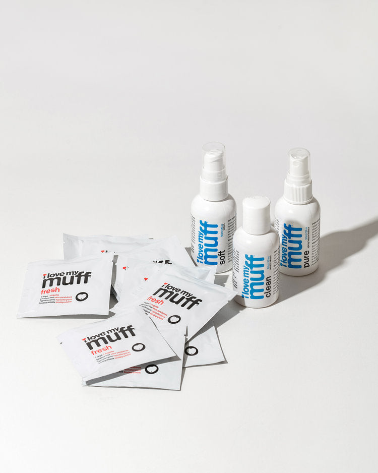 Blue Muff Care Kit