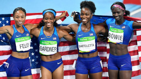 Track and Field Rio 2016 4x100 relay