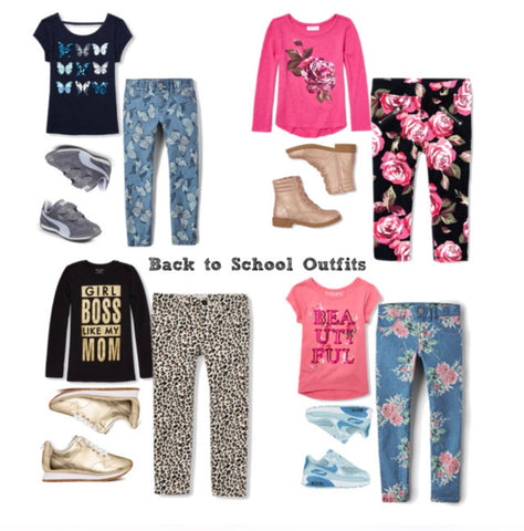Polyvore Children's Place Girls Fashion Outfits