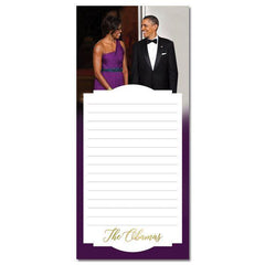 The Obamas Magnetic Notepad