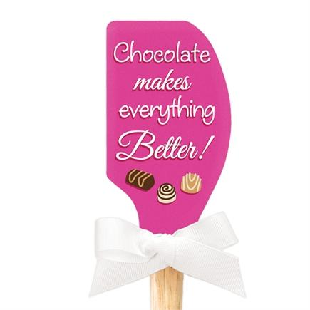 Chocolate Makes Everything Better Spatula