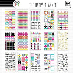 The Happy Planner Sticker Value Pack Planner, Mom Life, 1439 Stickers