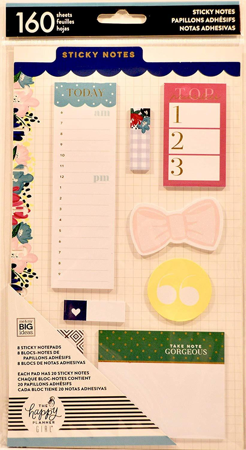 The Happy Planner Girl, Socialite, Sticky Notes