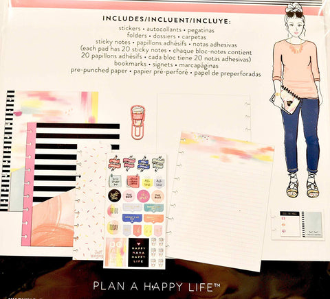 The Happy Planner Girl - Classic Accessory Pack - Super Mom, Multicolor