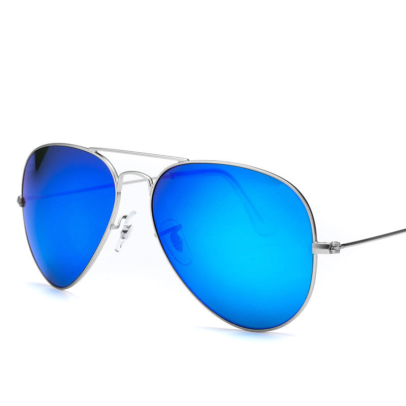 Unisex Classic Aviator Glasses Mirror Sunglasses