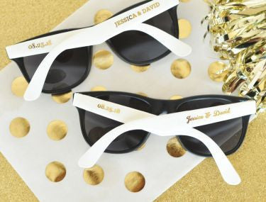 Personalized Wedding Sunglasses