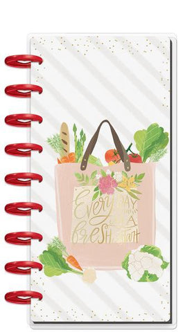 Happy Planner Me & My Big ideas Classic Half Sheet Notebook - Foodie
