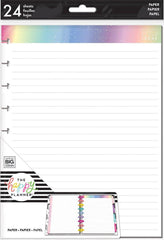 Happy Planner Classic Note Paper - Rainbow Foil