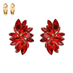 Red Gem Leaf Clip