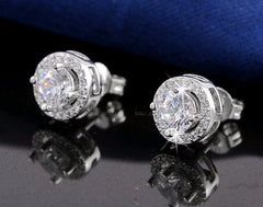 Austrian Crystal Stud Earrings - Multiple Colors Available