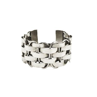 Handcrafted Basket Weave Collection Bracelet