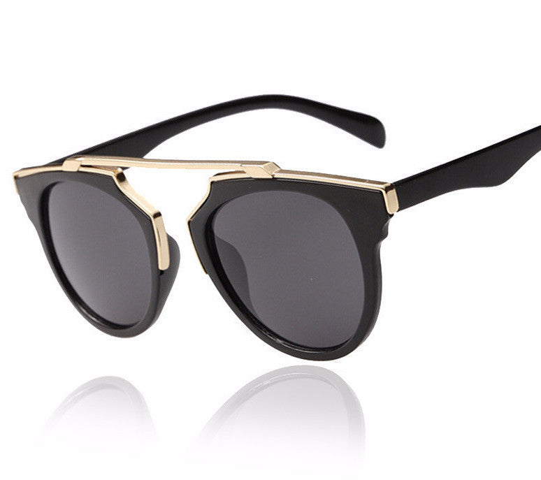women designer glasses abdu  Women's New Fashion Cat Eye Mirrored Sunglasses