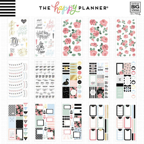 Happy Planner Value Pack Stickers - Simply Lovely