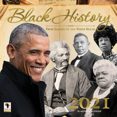 Black History 2021 Calendar African American Expressions, Africa American gifts