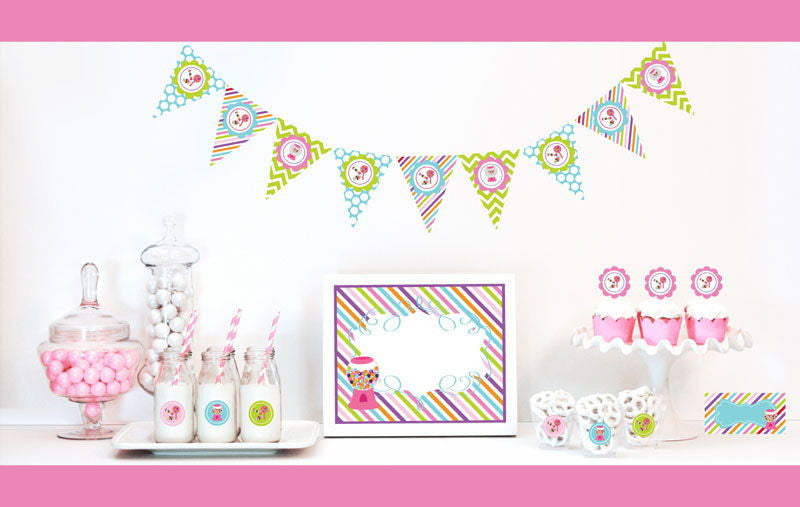 Sweet Shoppe Decorations Party Starter Kit