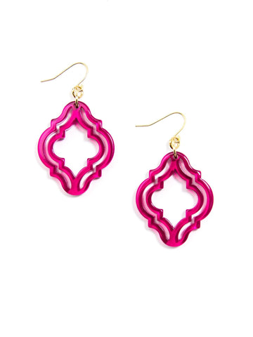 Imperial Lattice Earring