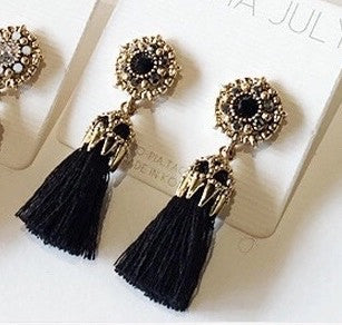 Julia Tassel Earrings