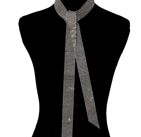 Audrey Choker Tie Necklace