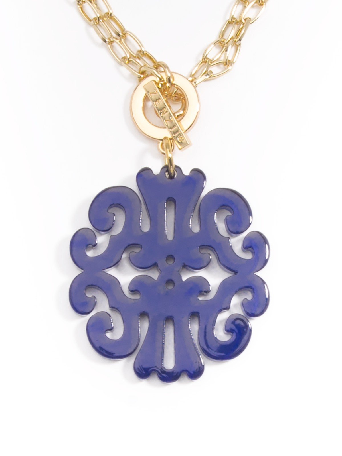 Statement Scroll Pendant Necklace