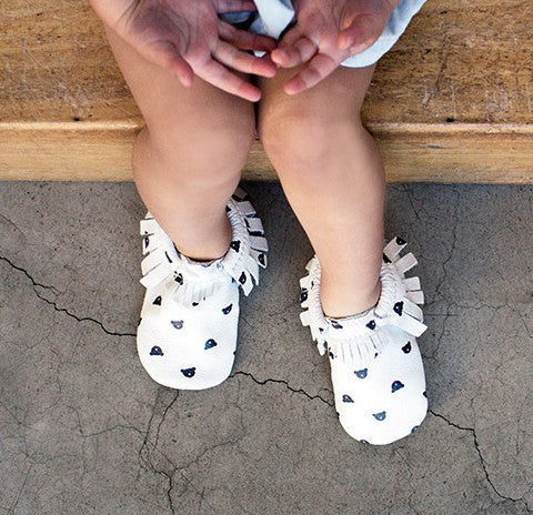 Newborn Toddler Baby Bow Moccasins