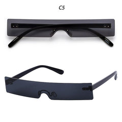 Kerry Rectangle Small Lens Sunglasses