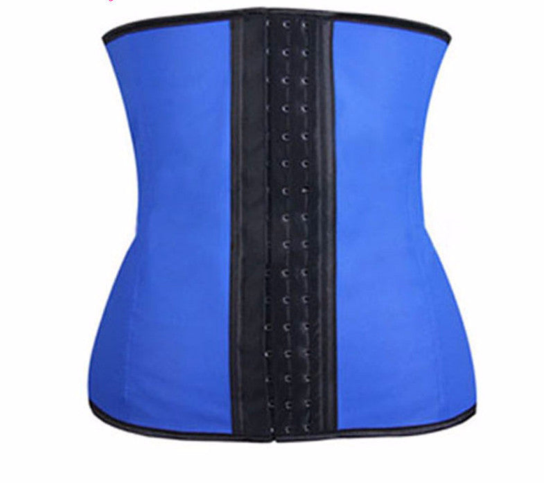 Latex Waist Training Corset Body Shaper Cincher XS-6XL
