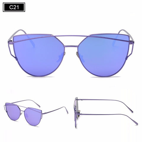 Kris Metal Frame Sunglasses