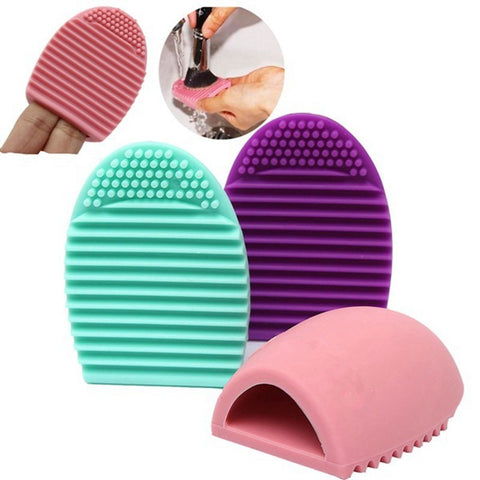 Colorful Brushegg Cleaning Makeup Washing Brush