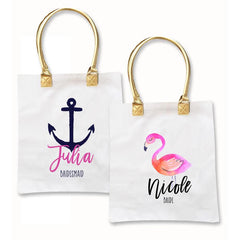 Bridesmaids Gifts. Tote Bags.