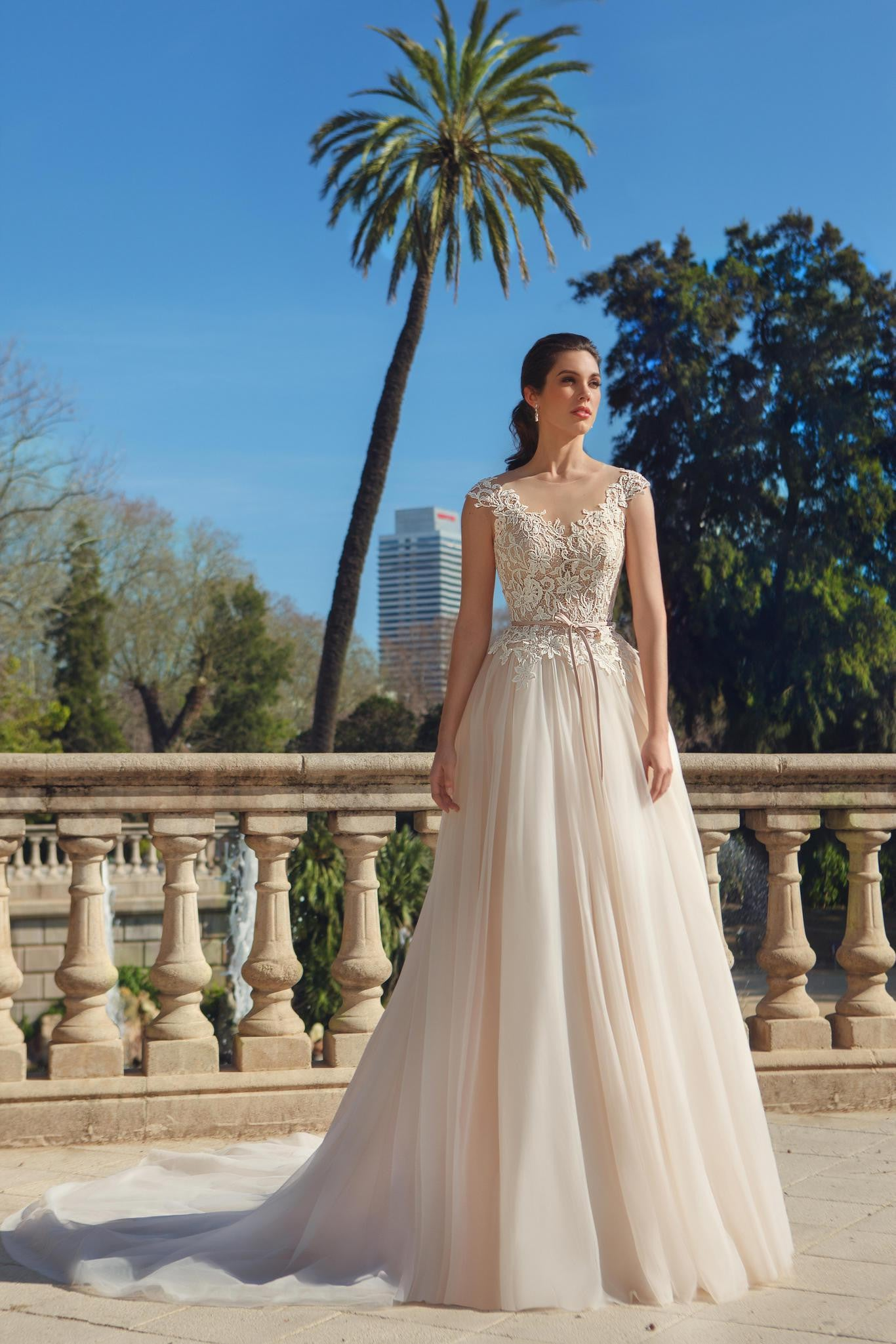 Taupe Lace Wedding Gowns Topsimages