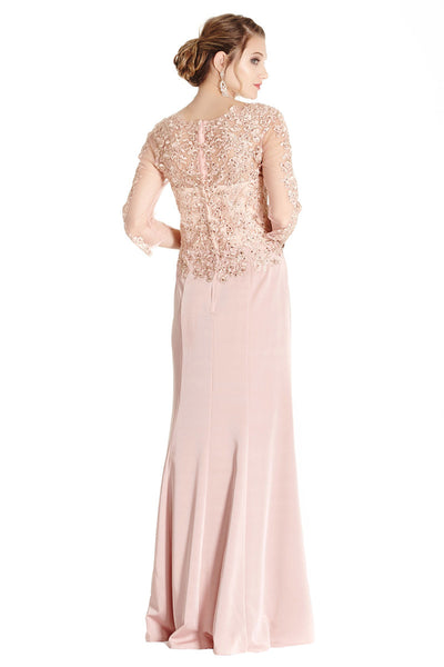 Blush Formal Evening Dress
