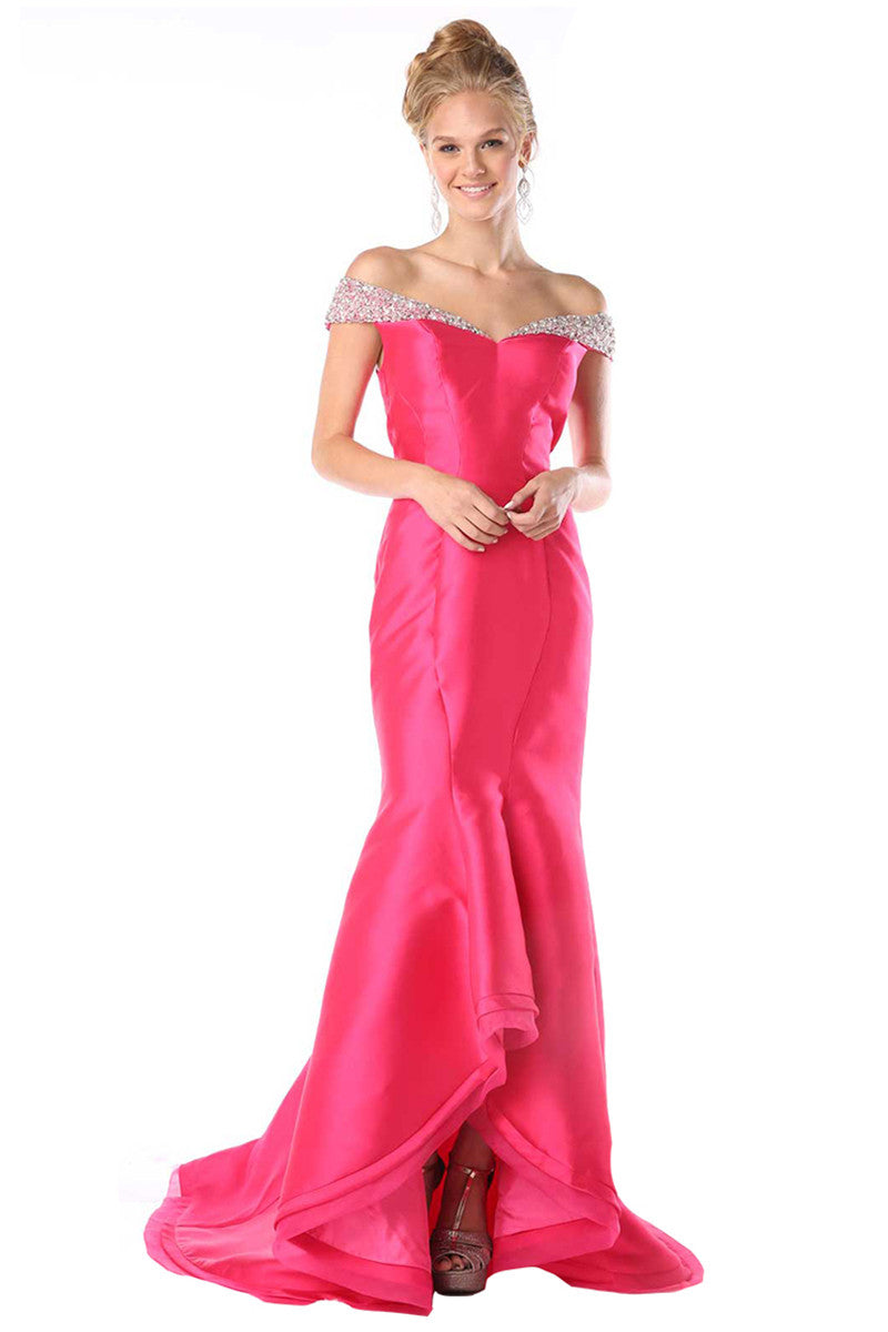 Fuchsia Long Formal Dress