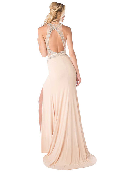 Long Dress With High Slit