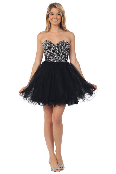 Short Tulle Fit & Flare Party Dress