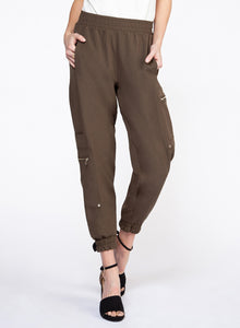 CARGO PANT WITH ZIP DETAIL