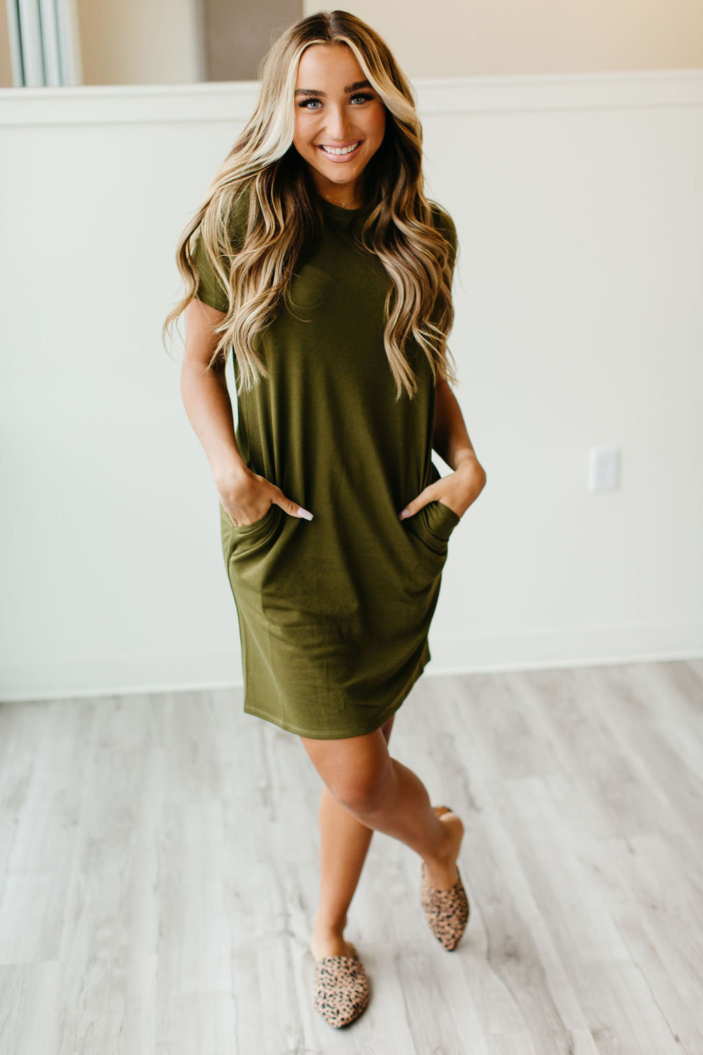 Ollie Dress Olive